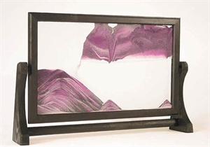 Picture of W-024: Wooden-framed sand picture (24x37 cm)