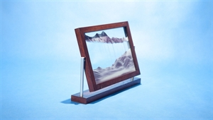 Picture of WM-022: Wooden-framed sand picture (19x30 cm)